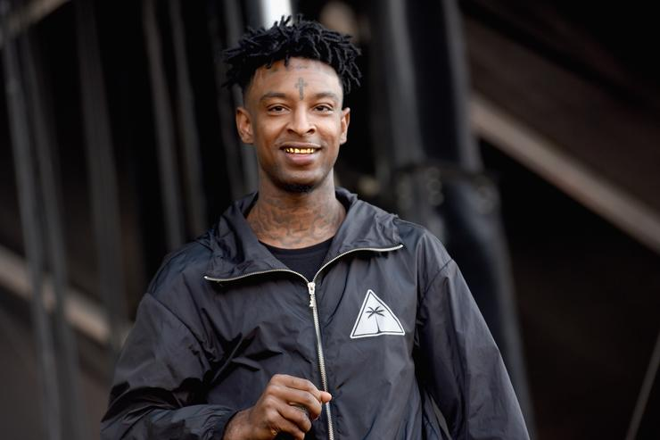 21 Savage at 2017 The Meadows Festival