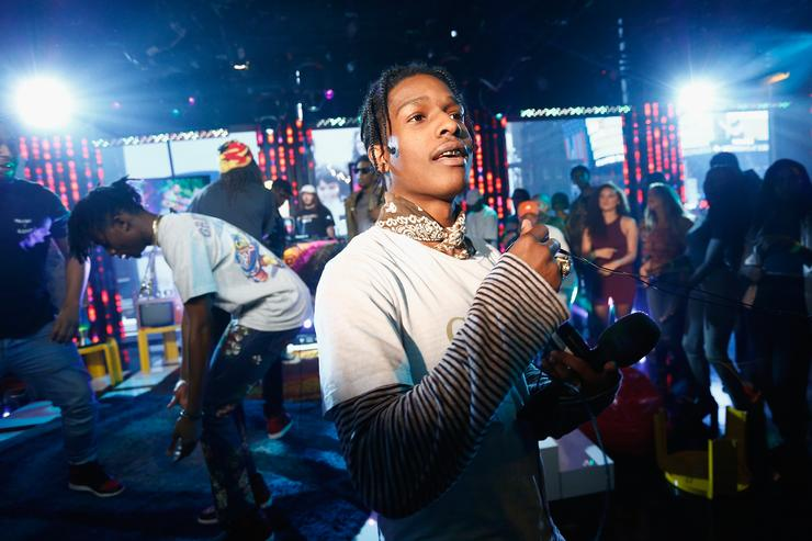 A$AP Rocky Performs at MTV