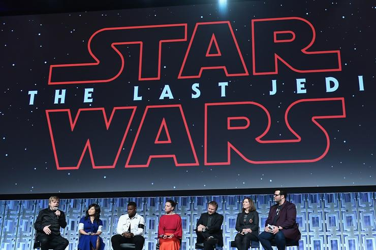Star Wars: The Last Jedi panel