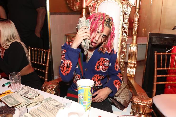 Lil Pump's 17th bday party
