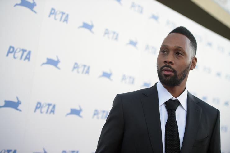 RZA at PETA's 35th anniversary party