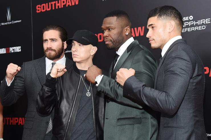 'Southpaw' New York Premiere - For THE WRAP