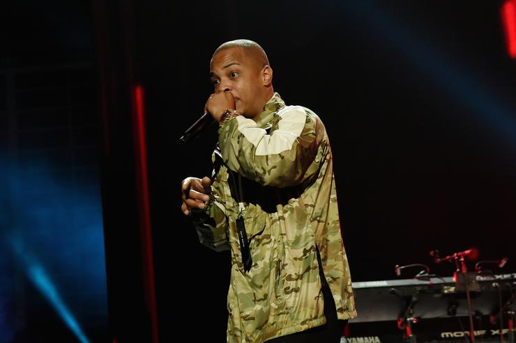 T.I. performing at One Voice: Somos Live!