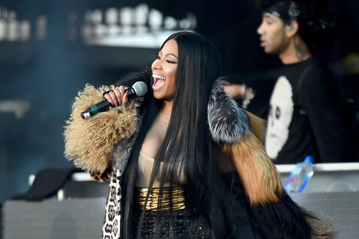 Nicki Minaj The Meadows Music And Arts Festival - Day 2