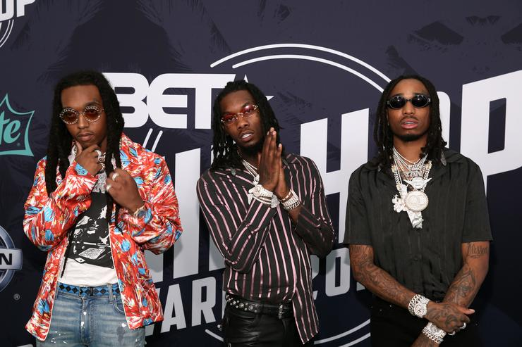 Migos BET Hip Hop Awards 2017 - Arrivals