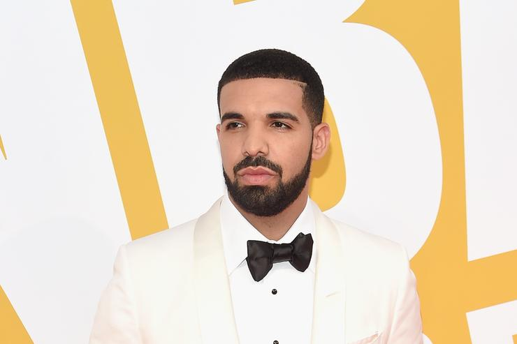 Drake at the 2017 NBA Awards