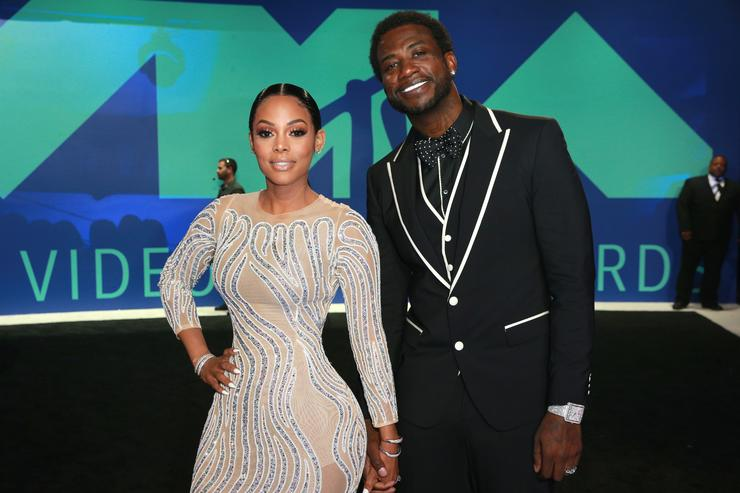 Keyshia Ka'oir and Gucci Mane together