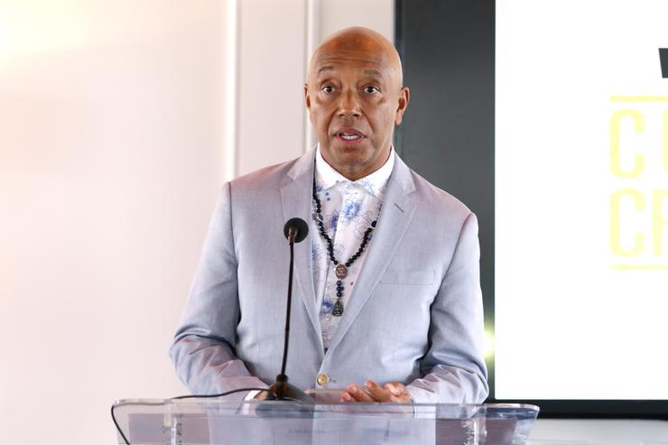 Russell Simmons at Culture Creators event