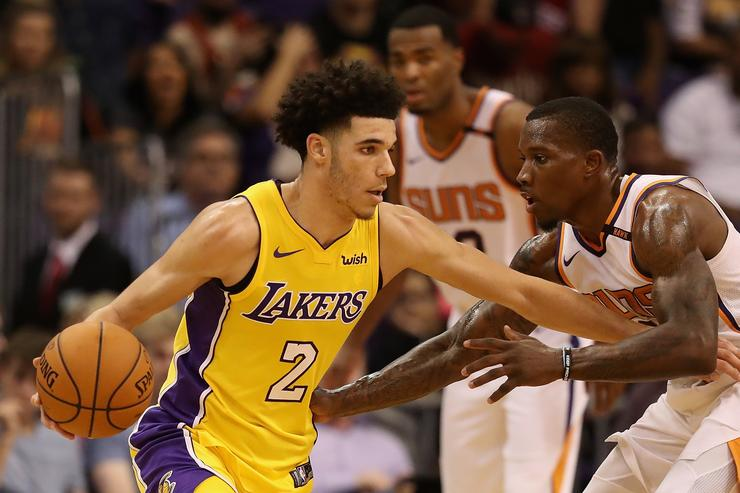 Lonzo Ball vs. Suns