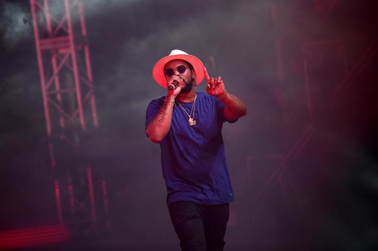 Schoolboy Q performs onstage at the 2016 Panorama NYC Festival - Day 1 at Randall's Island on July 22, 2016 in New York City