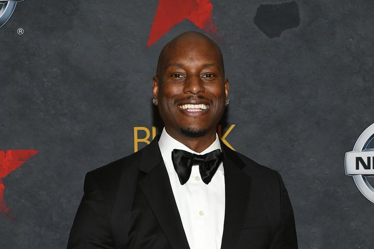 Tyrese at Black Girls Rock event