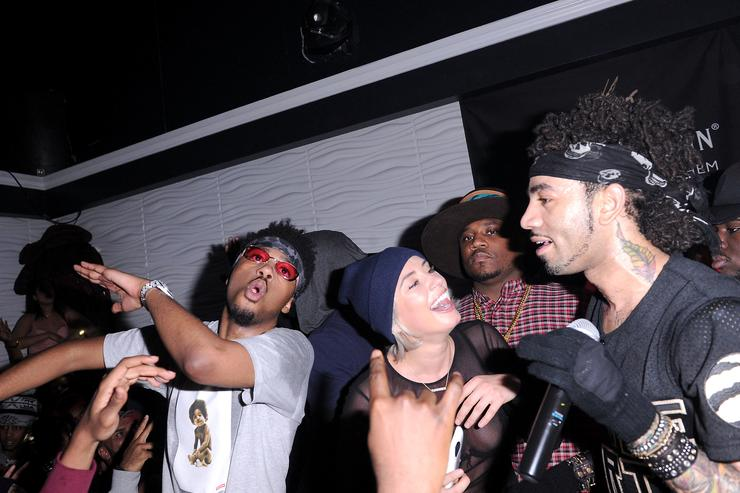 Metro Boomin, YesJulz, and DJ Esco attends Viber, leading mobile messaging app and YesJulz NBA All Star Game Party at La Vie Nightclub on February 12, 2016 in Toronto, Canada