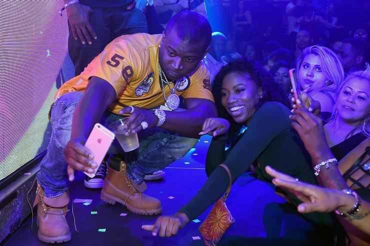 Recording artist O.T. Genasis performs at the Light Nightclub at the Mandalay Bay Resort and Casino on May 21, 2017 in Las Vegas, Nevada