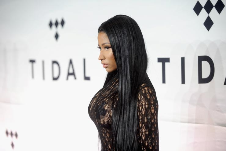 Rapper Nicki Minaj attends TIDAL X: 1015 on October 15, 2016 in New York City