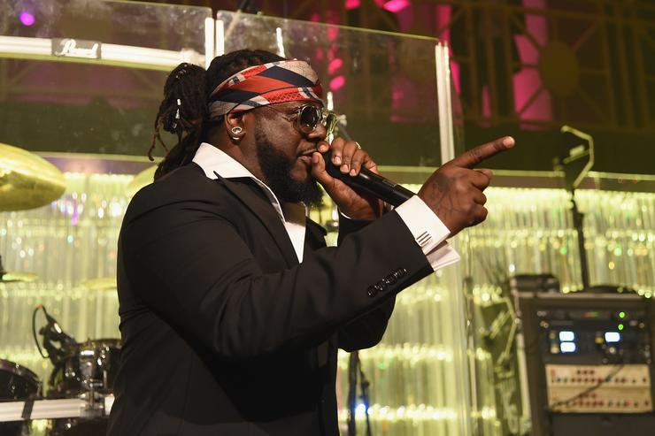T-Pain at 2017 Angel Ball