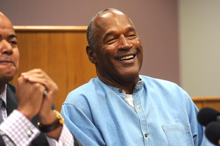 OJ Simpson at parole hearing