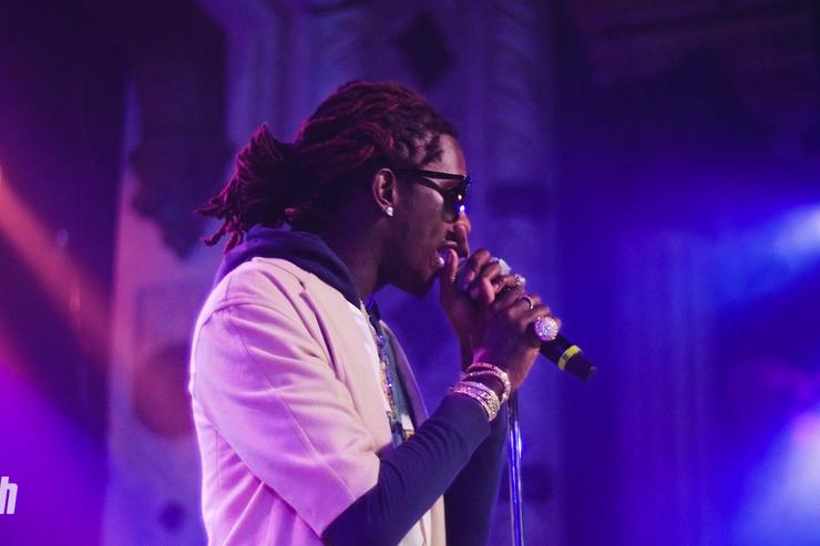 Young Thug in concert in Chicago