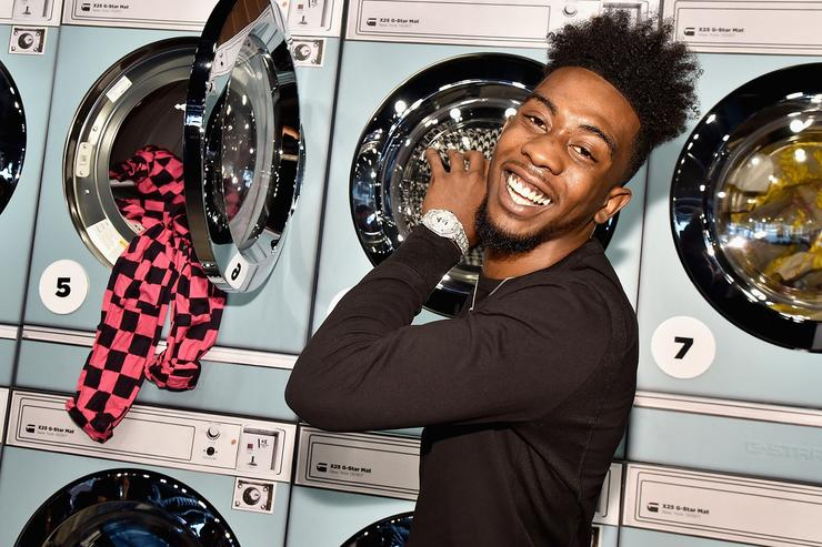 Desiigner at NYFW