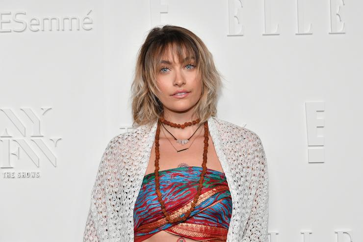 Paris Jackson at Elle Magazine party