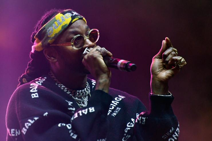 2 Chainz performs at 2017 Camp Flog Gnaw