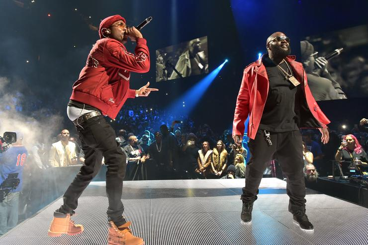 Rick Ross Shows Meek Mill Support Calls Him A Warrior