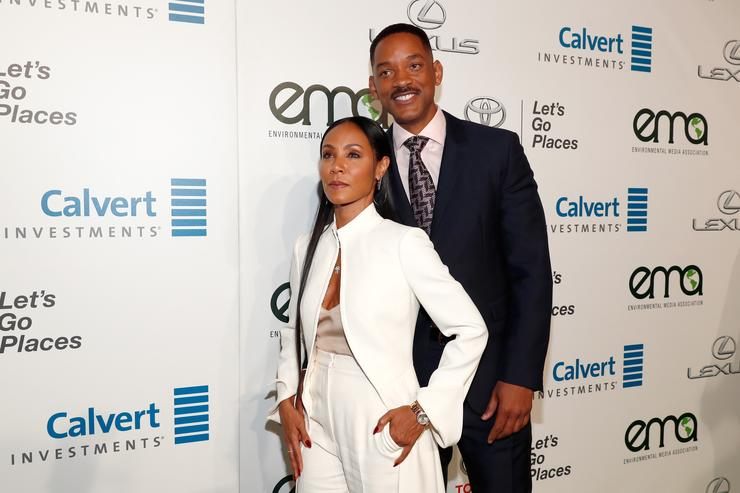 Will and Jada at Ema Awards