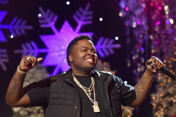 Sean Kingston a t the 2015 Hollywood christmas parade