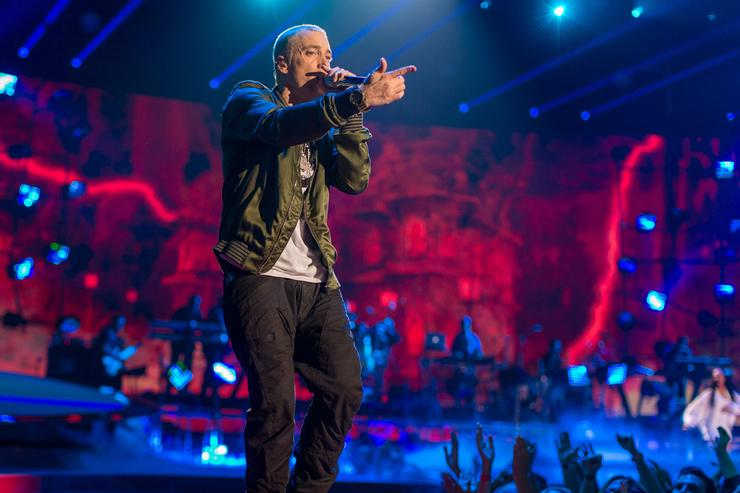 Eminem drops song with Beyoncé