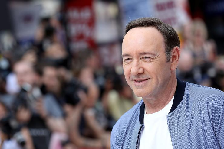 Kevin Spacey attends the European Premiere of Sony Pictures 'Baby Driver' on June 21, 2017 in London, England.