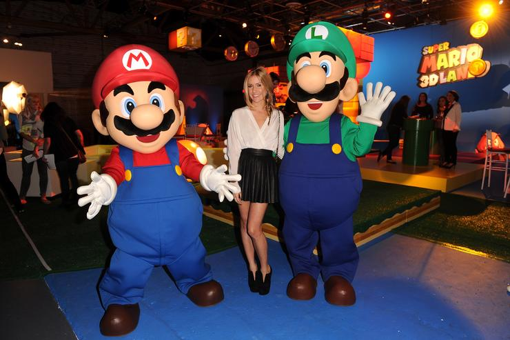 TV personality Kristin Cavallari attends Nintendo's celebration of the launch of Super Mario 3D Land at Siren Studios on November 3, 2011 in Hollywood, California