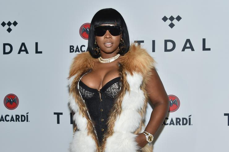 Remy Ma at Tidal event