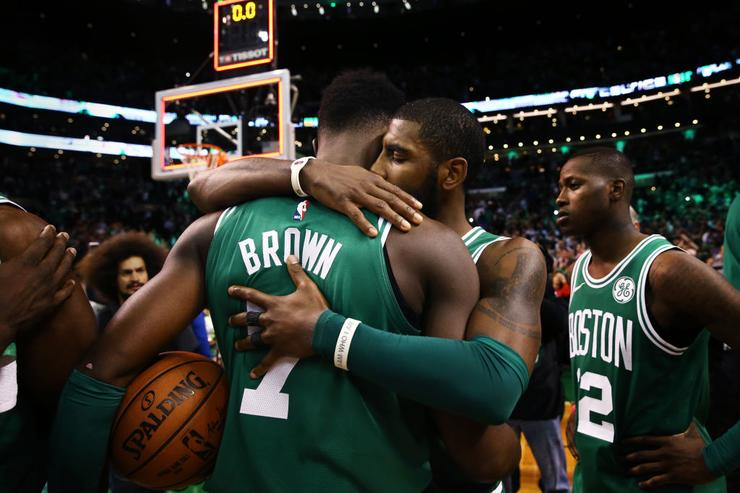 Jaylen Brown x Kyrie Irving
