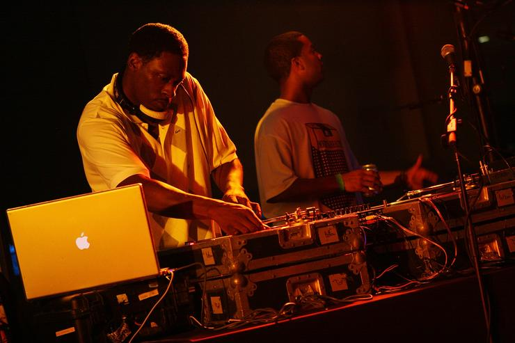 DJ Pete Rock performs onstage at BlackSmith Music: A Night at the Museum at the Planetarium at the American Museum of Natural History on June 27, 2008 in New York City