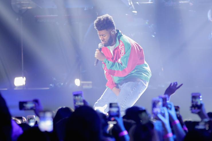 Khalid performs onstage during the 2017 MTV Video Music Awards at The Forum on August 27, 2017 in Inglewood, California