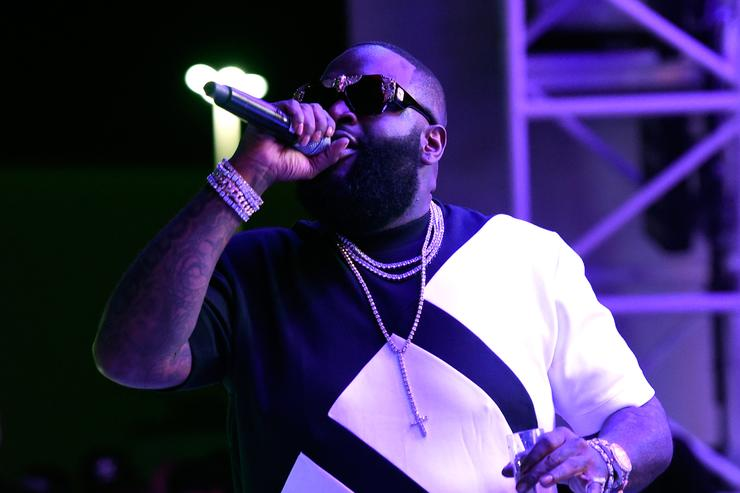 Rick Ross at Eclipse Launch party