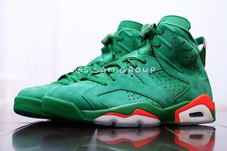 Air Jordan 6 Gatorade White Red Green