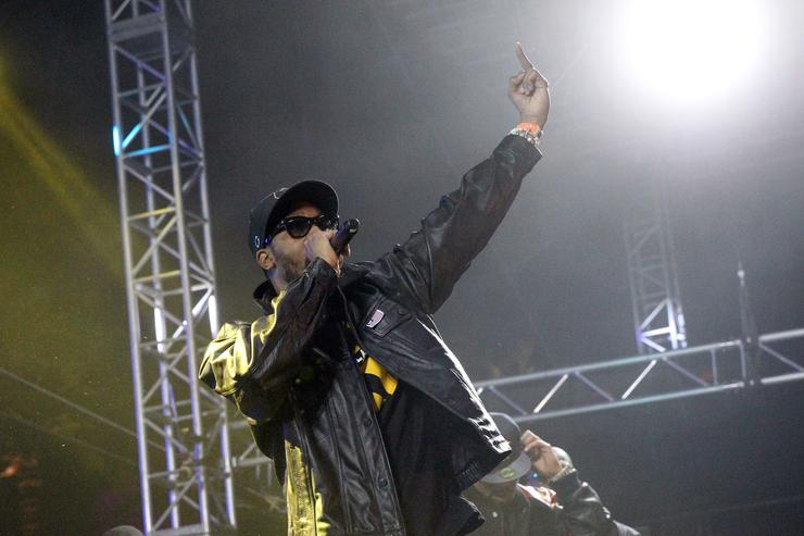 Musician RZA performs onstage during day 3 of the 2013 Coachella Valley Music & Arts Festival at the Empire Polo Club on April 14, 2013 in Indio, California