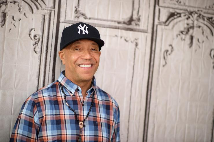 Russell Simmons attends the AOL Build Speakers Series 'The Happy Vegan' at AOL Studios In New York on March 10, 2016 in New York City