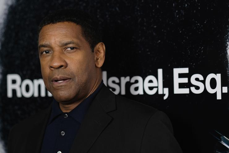Actor Denzel Washingtonat attends the screening of Roman J. Israel, Esq. at Henry R. Luce Auditorium at Brookfield Place on November 20, 2017 in New York City