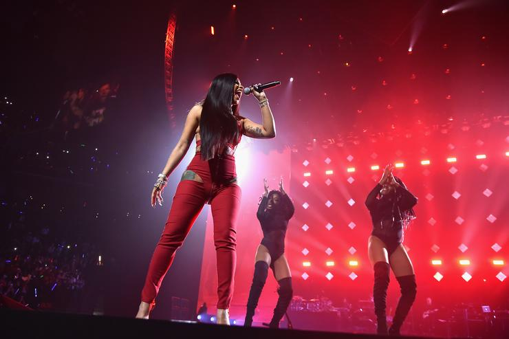 Cardi B performs onstage during TIDAL X: Brooklyn at Barclays Center of Brooklyn on October 17, 2017 in New York City