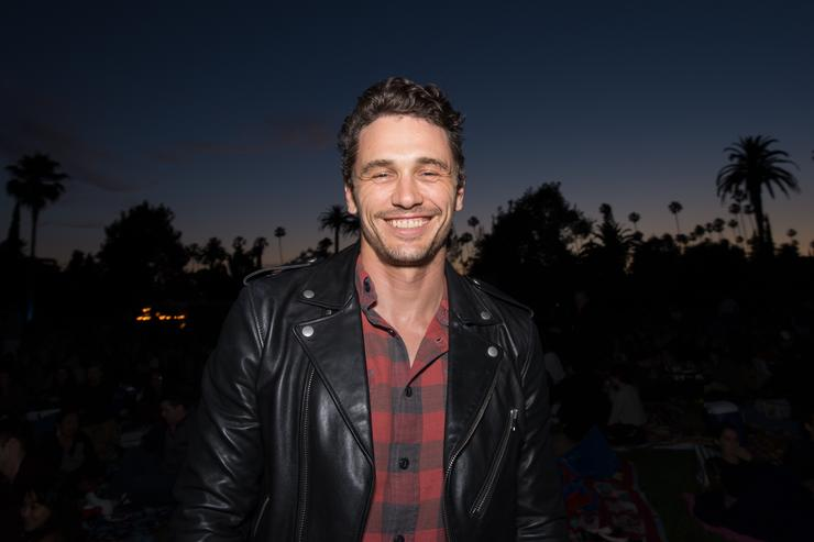 James Franco attends Cinespia's screening of 'North by Northwest' held at Hollywood Forever on May 27, 2017 in Hollywood, California