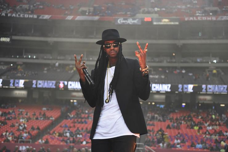 Rapper 2 Chainz performs at the 2014 Atlanta Football Classic at Georgia Dome on October 4, 2014 in Atlanta, Georgia