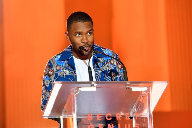 Frank Ocean at Spotify's secret Awards