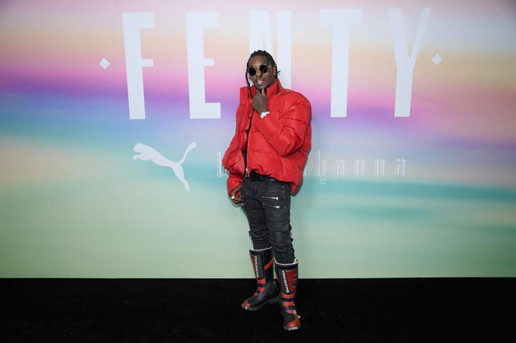 Rapper Offset of Migos attends the FENTY PUMA by Rihanna Spring/Summer 2018 Collection at Park Avenue Armory on September 10, 2017 in New York City