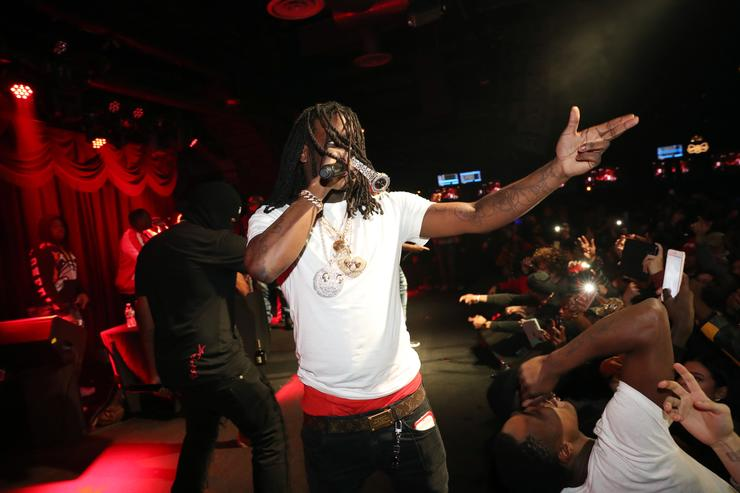 Chief Keef performs at Brooklyn Bowl on December 5, 2016 in New York City