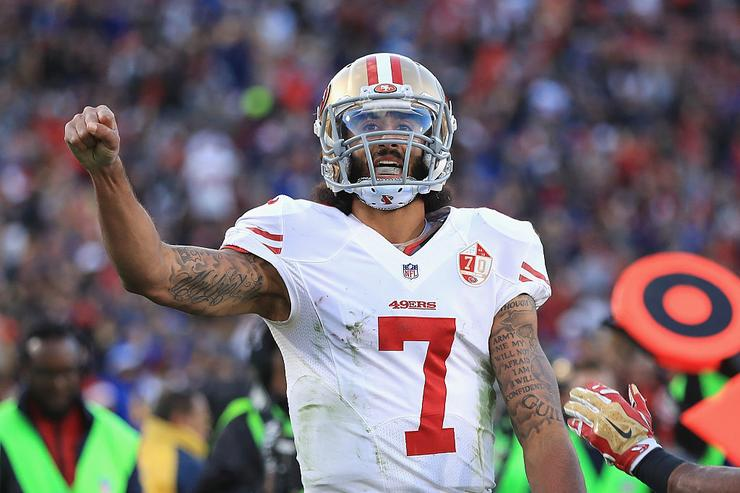 Kaepernick named victor of Sports Illustrated's Muhammad Ali Legacy Award