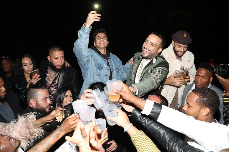 French Montana celebrates his birthday with CIROC French Vanilla on November 9, 2017 in Beverly Hills, California