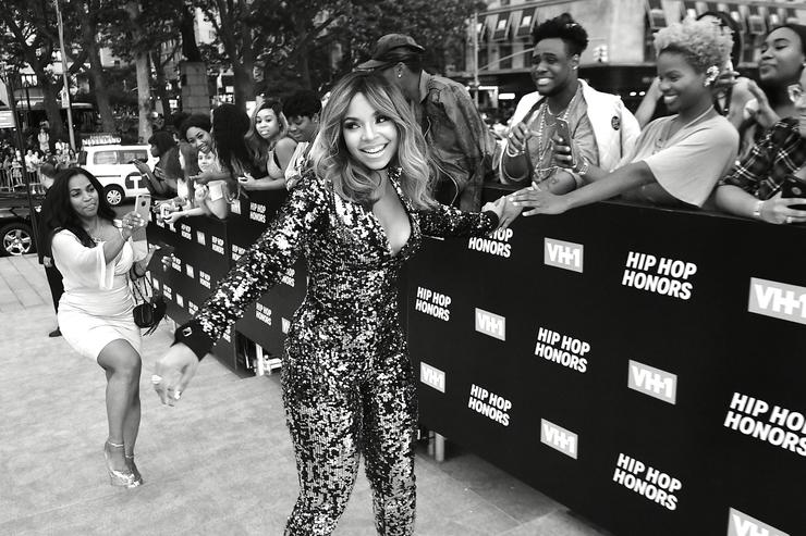 Singer Ashanti attends the VH1 Hip Hop Honors: All Hail The Queens at David Geffen Hall on July 11, 2016 in New York City