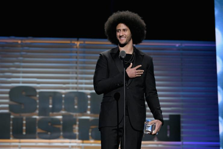 Colin Kaepernick At SI's Event