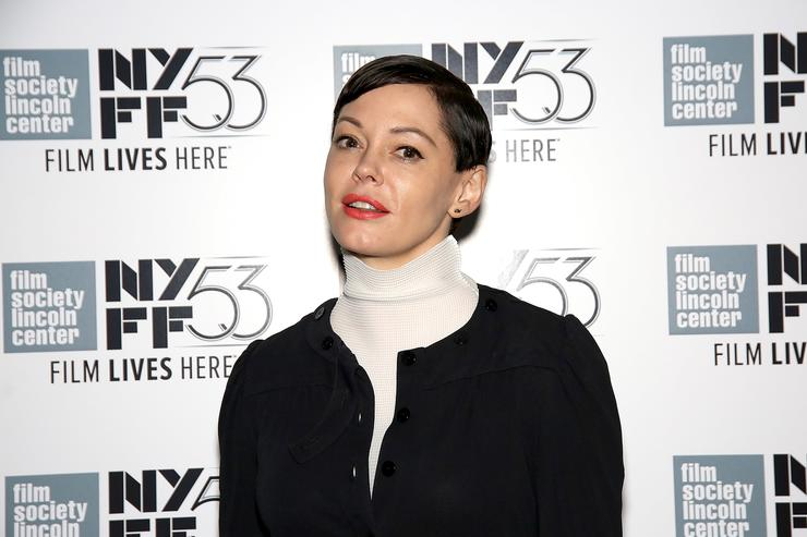 Rose McGowan attends the 53rd New York Film Festival 'NYFF Live' at Elinor Bunin Munroe Film Center on October 4, 2015 in New York City